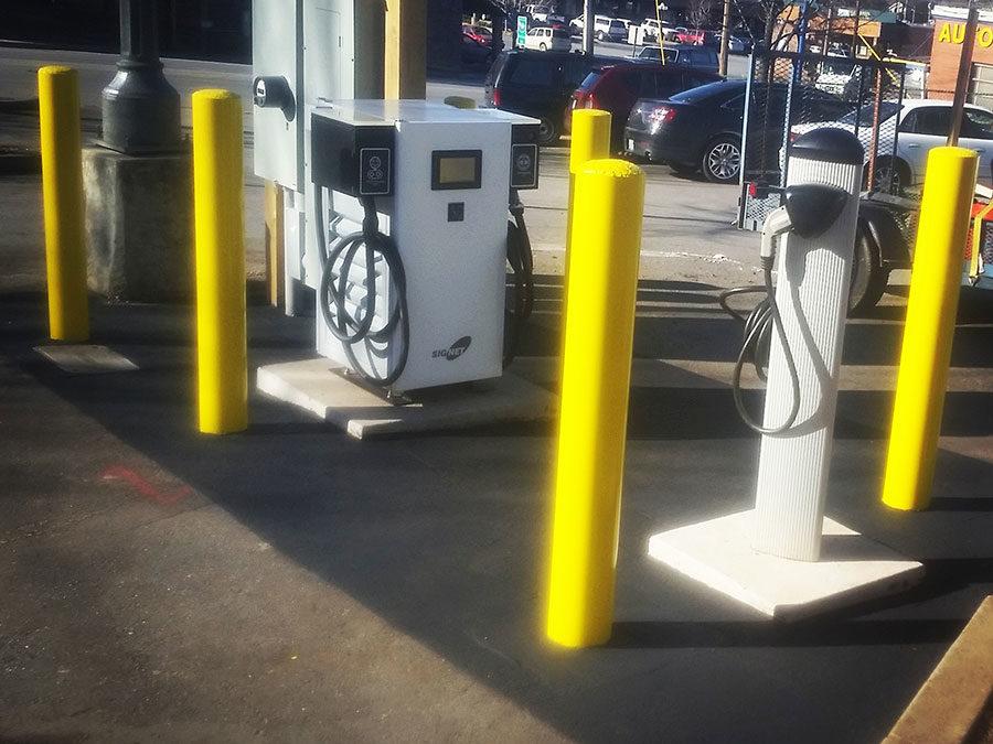 Merchants' Lot Car Charging Station – Waynesville, NC